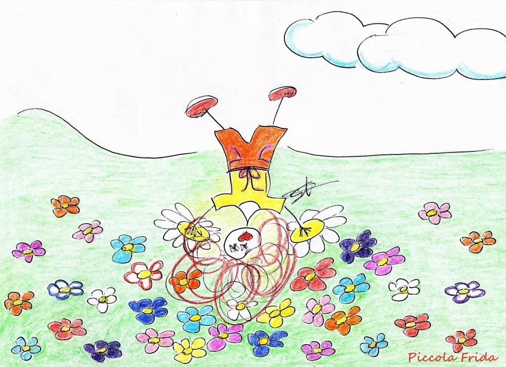Disegno Primavera - illustrazione di Susanna Albini