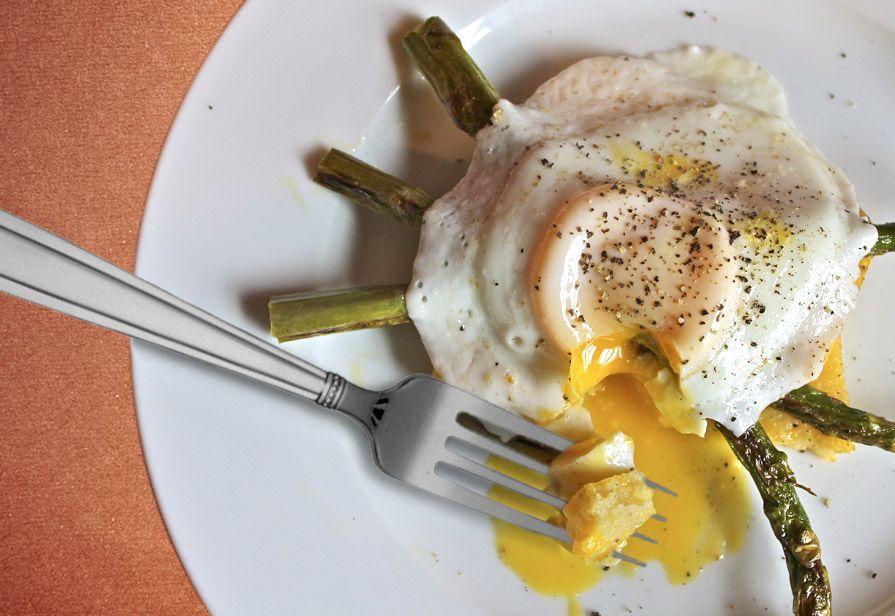 Asparagi con l'uovo