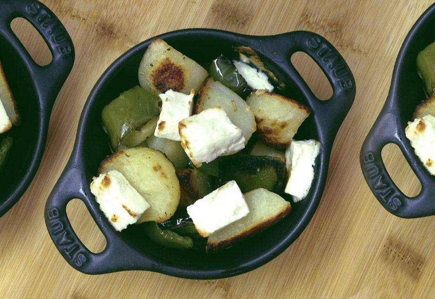 Insalata calda di friggitelli e patate