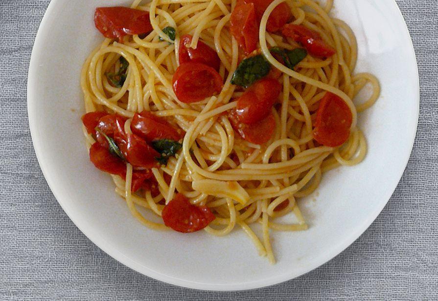 Spaghetti pachino light