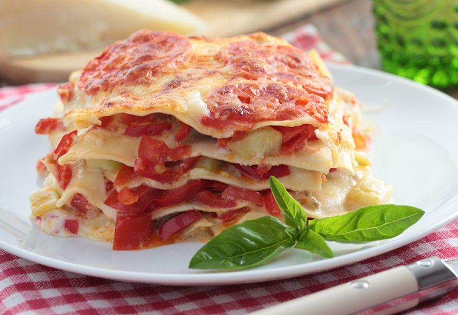 Lasagne ai peperoni
