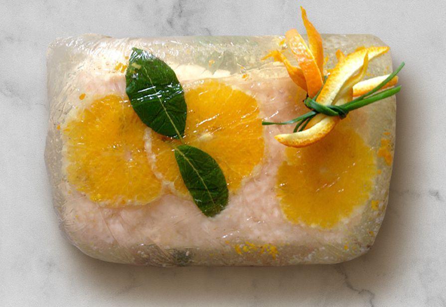 Paté di salmone e arancia