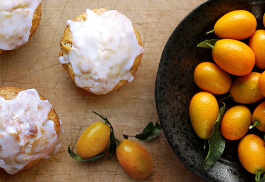 Muffin al kumquat