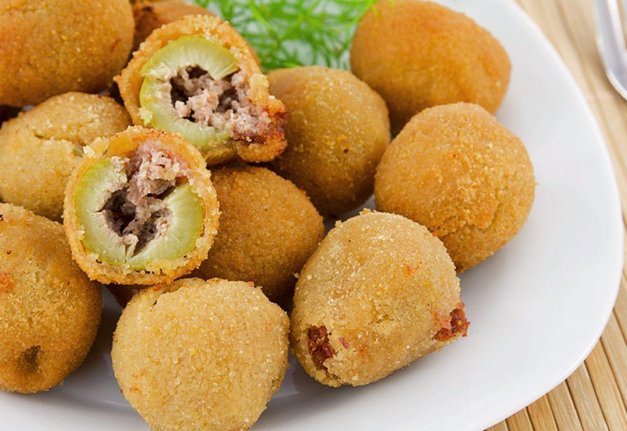 Olive ascolane farcite