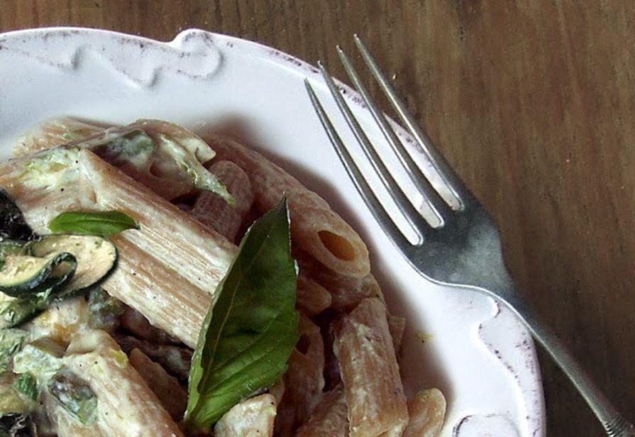 Penne zucchine e ricotta