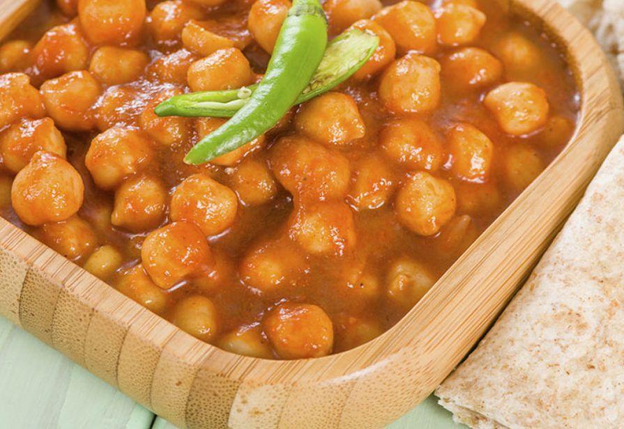 Curry veloce di ceci
