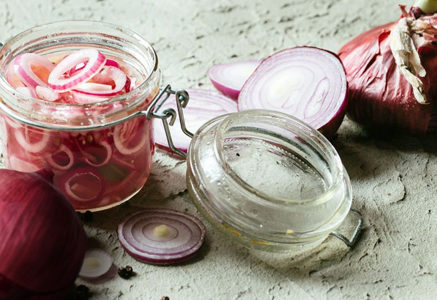 Cipolle agrodolci o Pickled onions