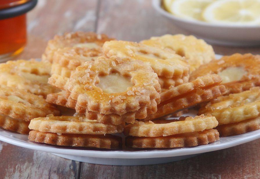 Biscotti alla crema di limoni