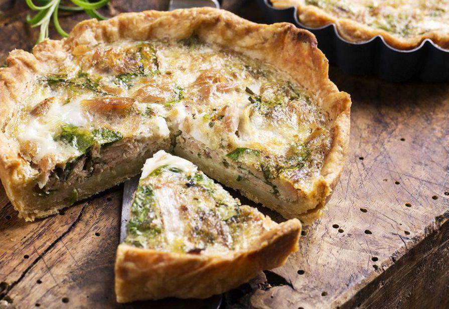 Mini tortine al tonno e spinaci