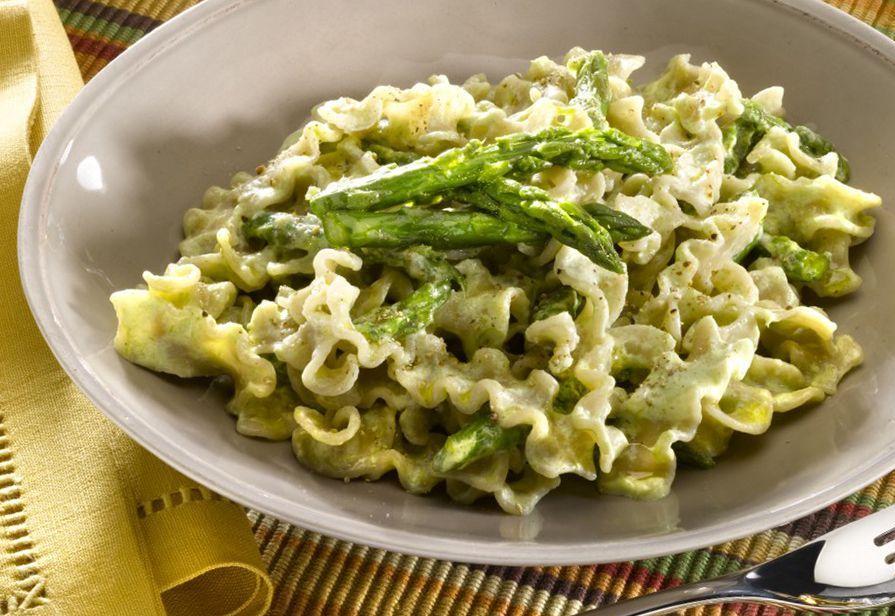 Reginette zucchine e asparagi