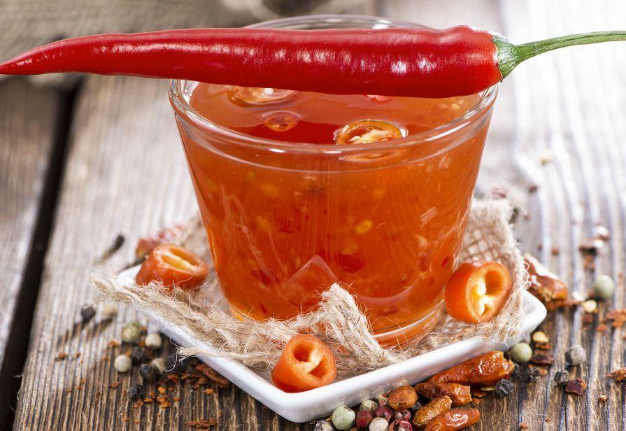 Salsa agrodolce piccante thai