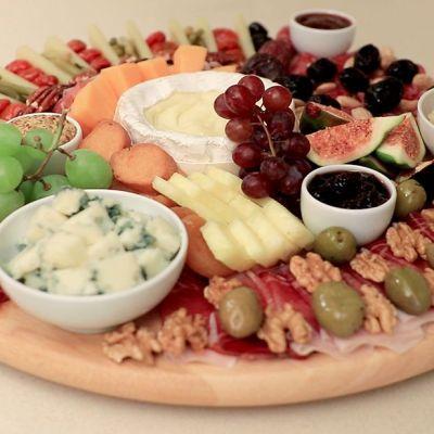 Tagliere di formaggi e salumi