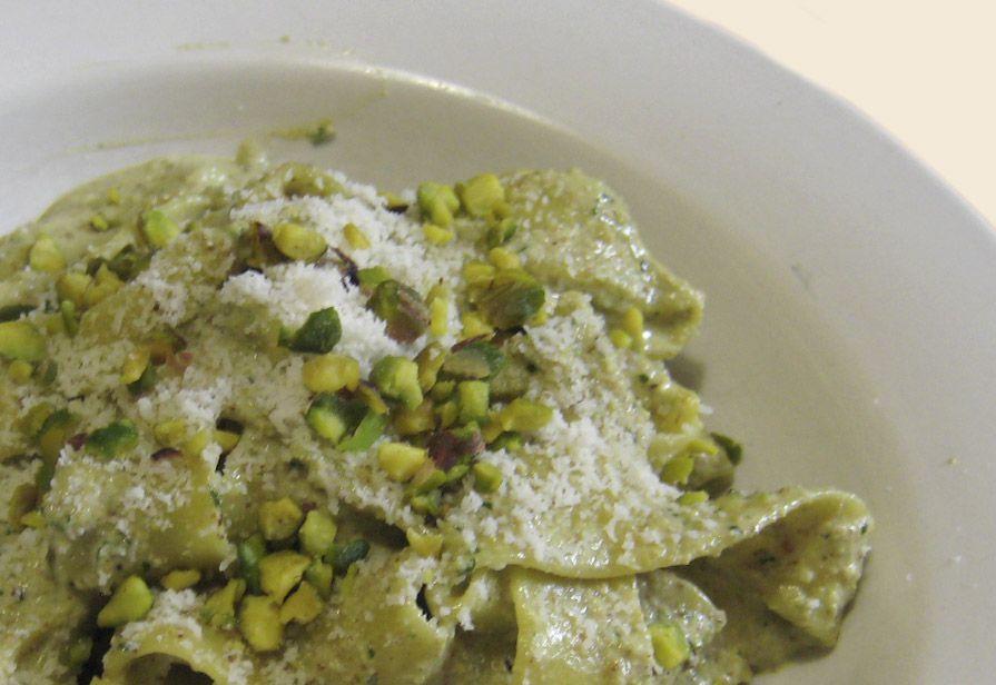 Fettuccine al pistacchio