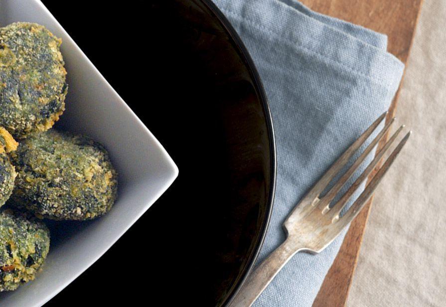 Polpette di spinaci e ricotta