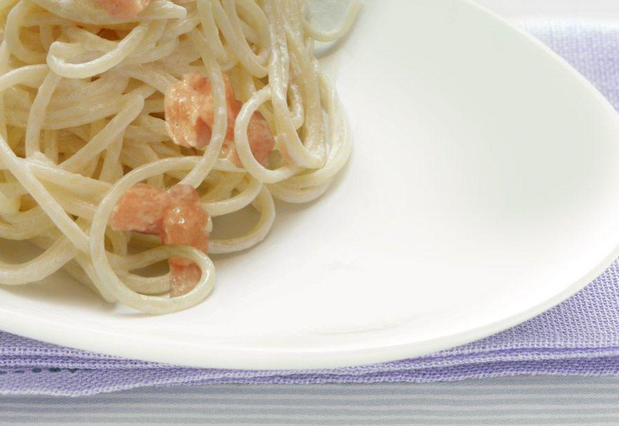 Spaghetti panna e zucca