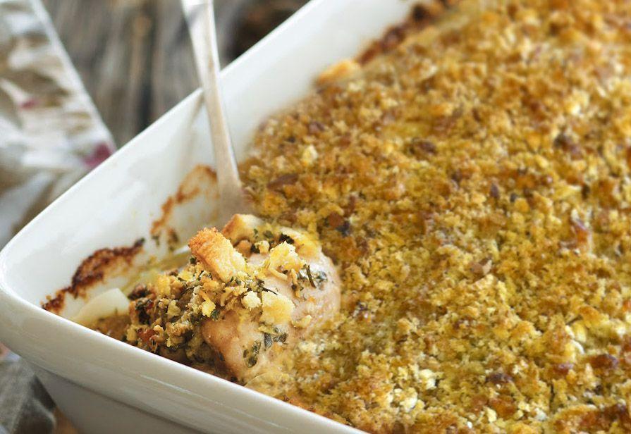 Pollo allo Chardonnay e formaggio