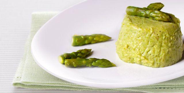 Flan agli asparagi