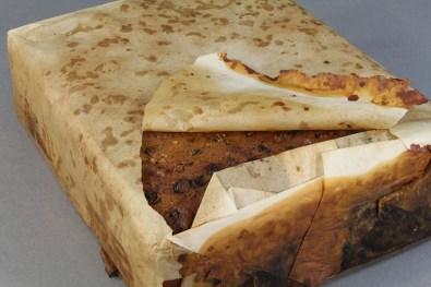 Un particolare della torta (Foto dell'Antarctic Heritage Trust)
