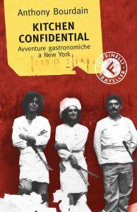 La copertina di Kitchen confidential