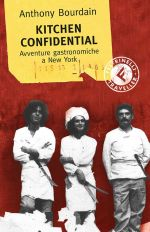 La copertina di Kitchen confidential