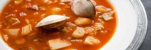 New York clam Chowder
