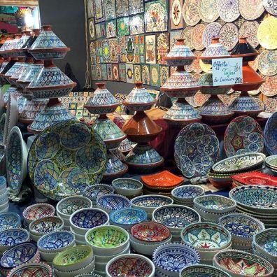 Ceramiche e Tajine