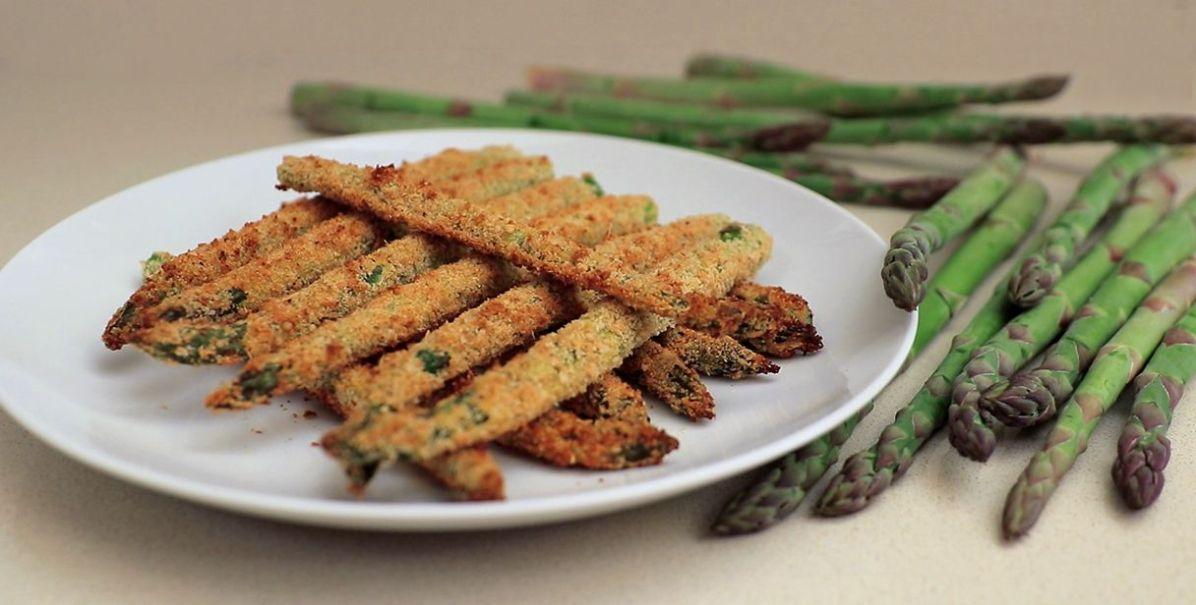 Asparagi croccanti in forno