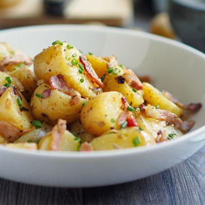 Insalata di patate al bacon
