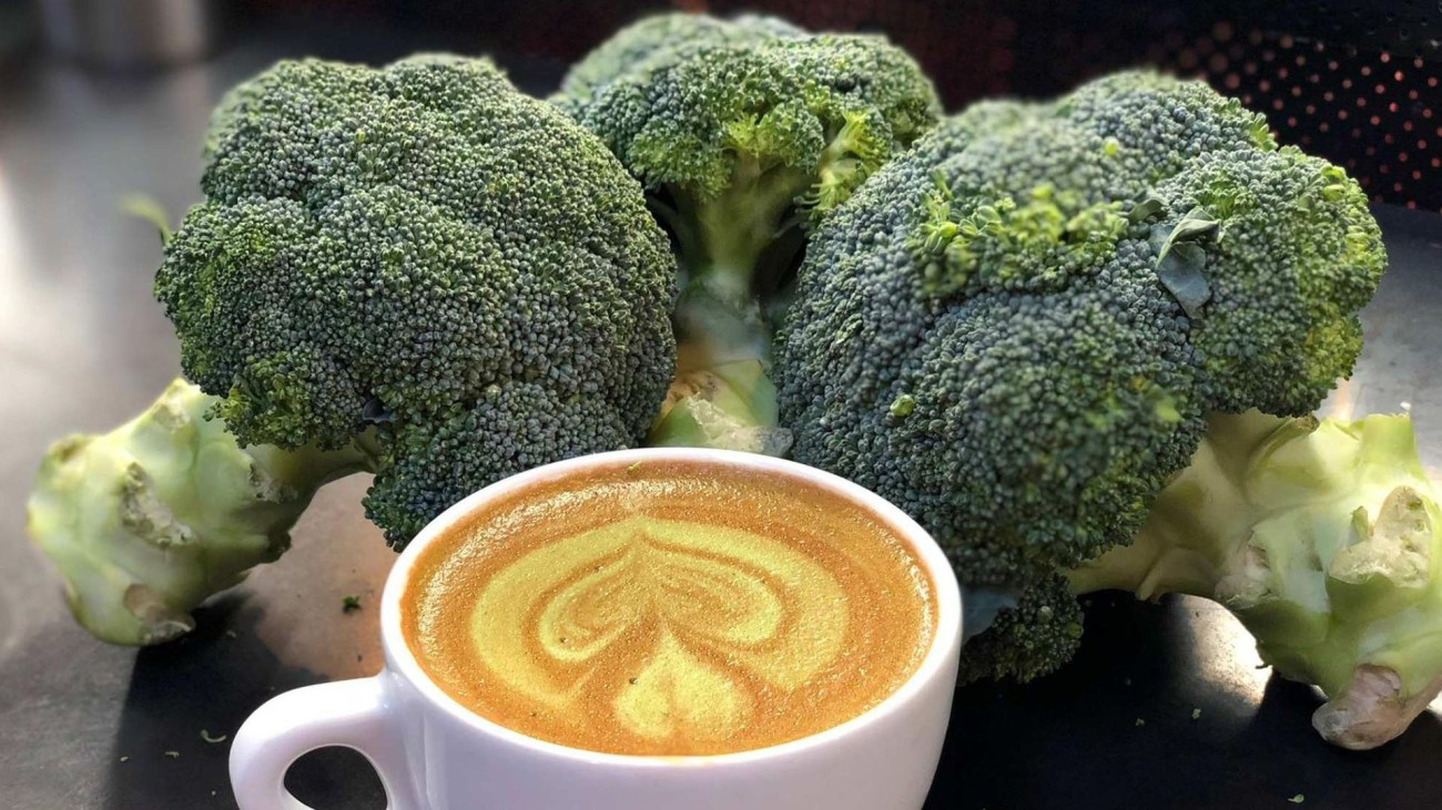 Broccoli nel caffè