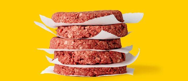Gli hamburger di finta carne