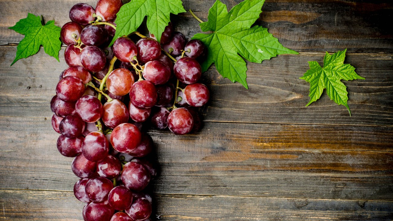 Ingrediente di settembre l'uva
