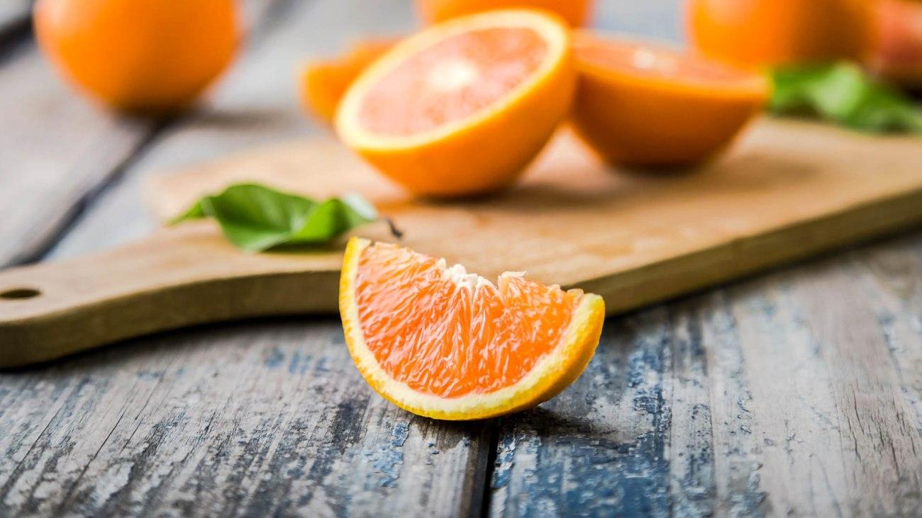 Ingrediente di febbraio arancia