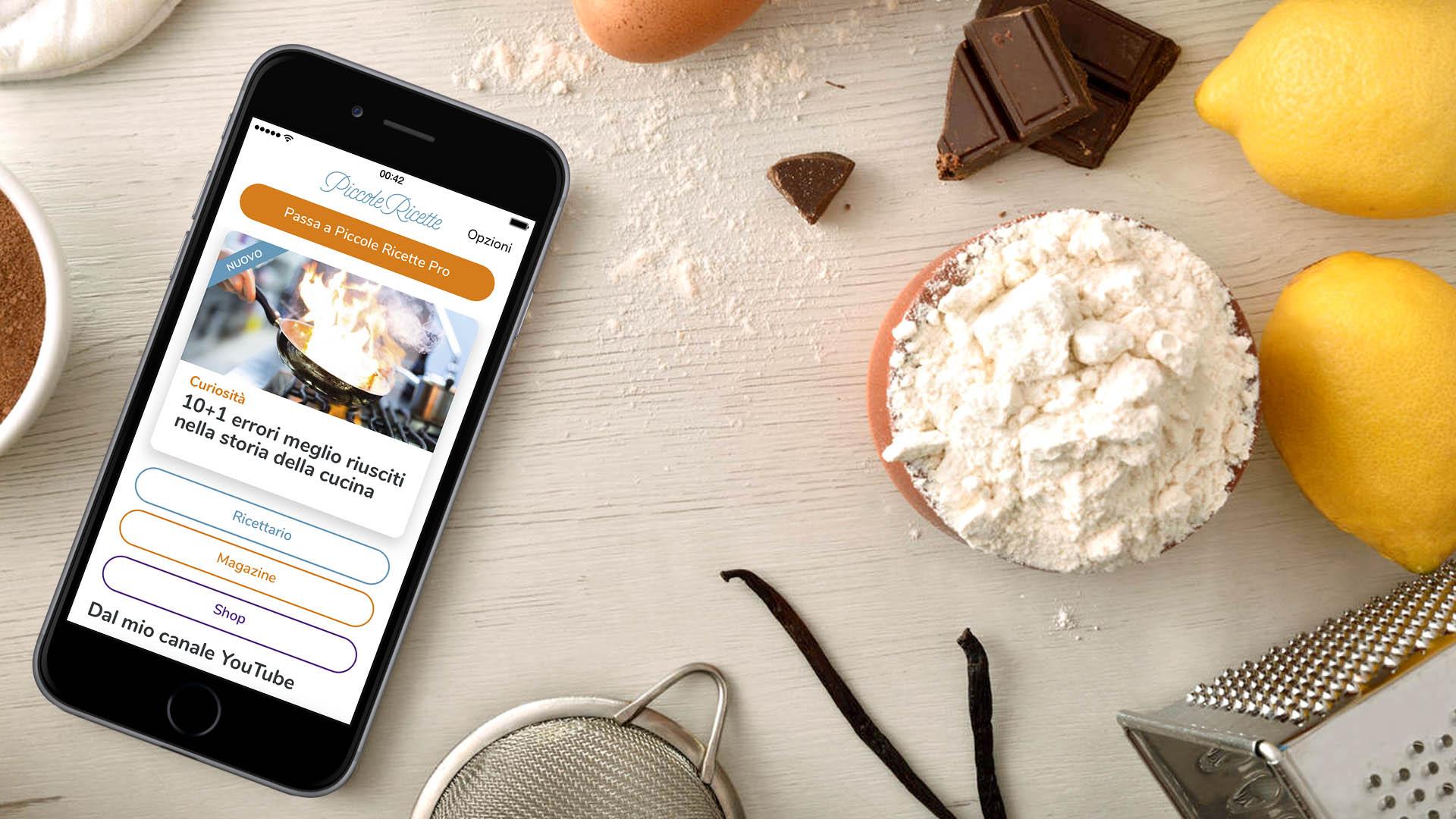 Piccole ricette la nuova versione dell app piccole ricette magazine