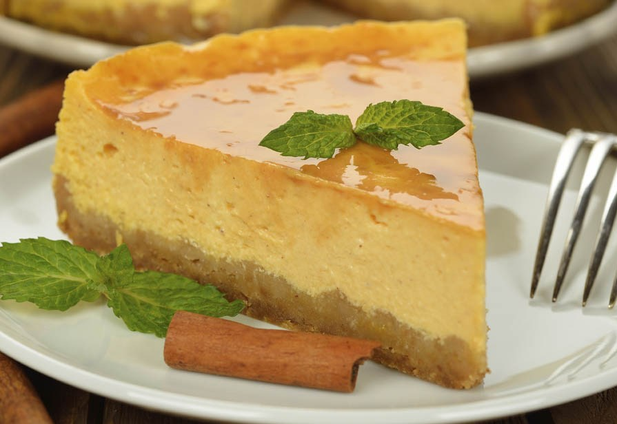 Cheesecake curcuma e cannella