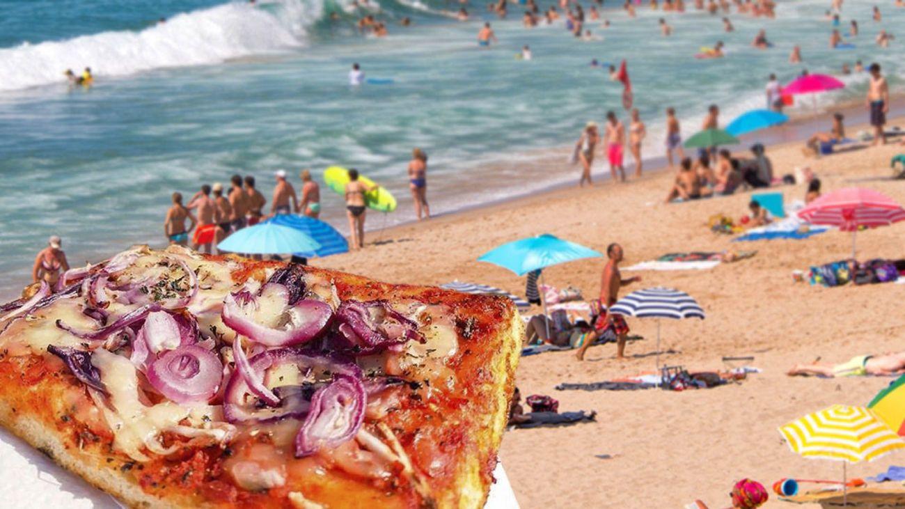 Ferragosto e il cibo da spiaggia