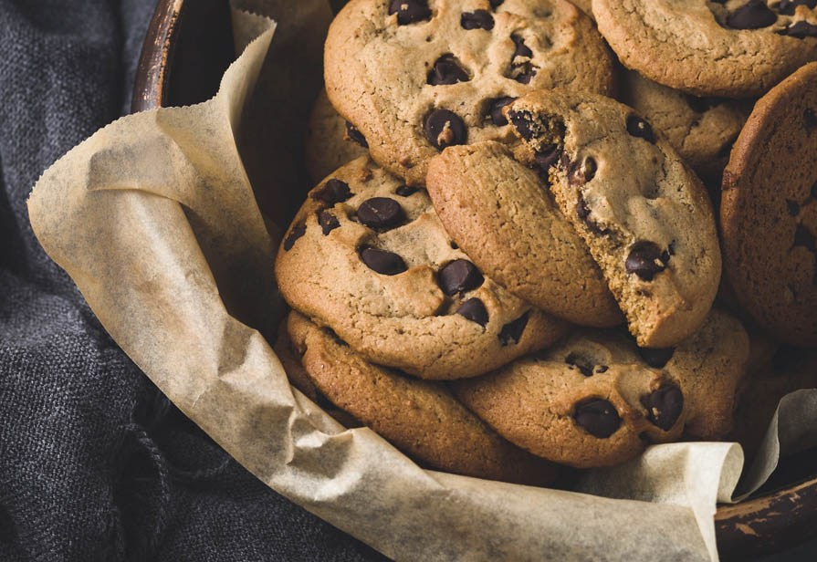 Cookies speziati al cioccolato