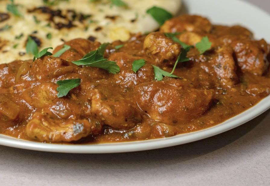 Spezzatino di pollo all'indiana
