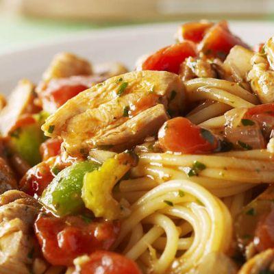 Spaghetti jambalaya