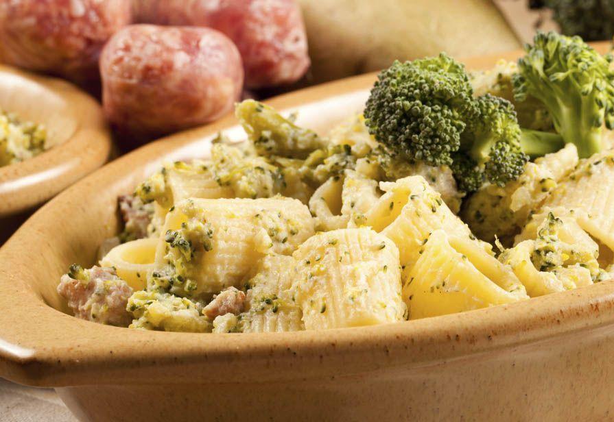 Pasta salsiccia e broccoli