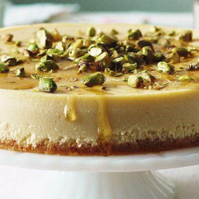 Cheesecake nocciole e pistacchi