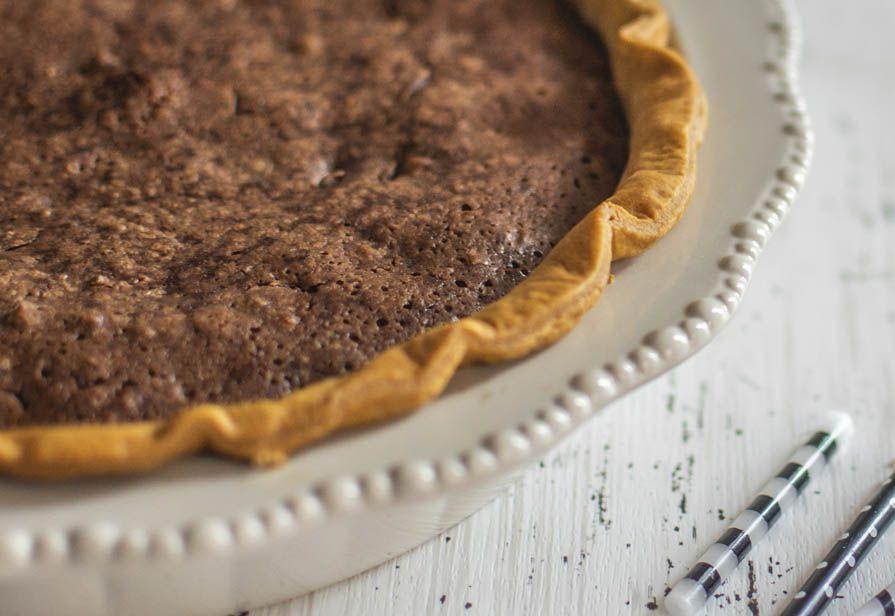 Pie al cioccolato e nocciole