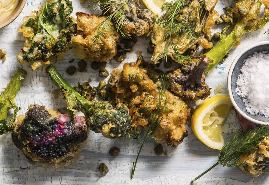 Broccoli pastellati