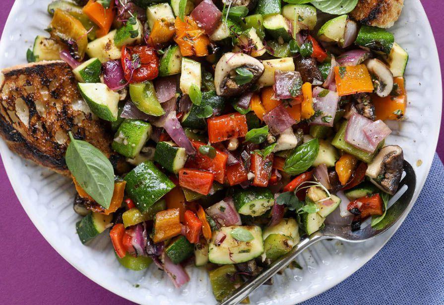 Insalata agrodolce di verdure