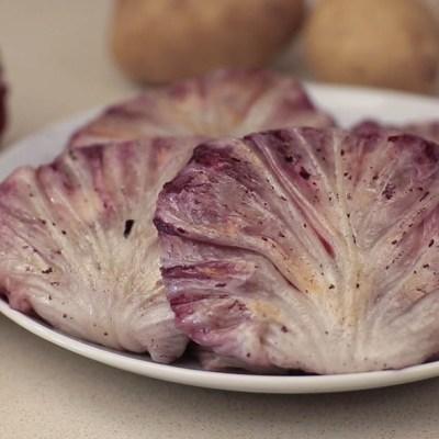 Pacchettini di radicchio alla salsiccia