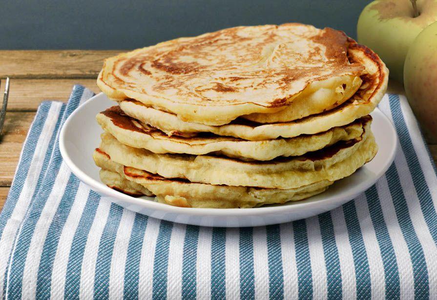 Pancakes alla mela