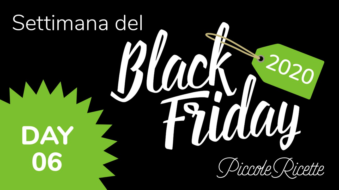 Amazon Black Friday 2020 giorno 06