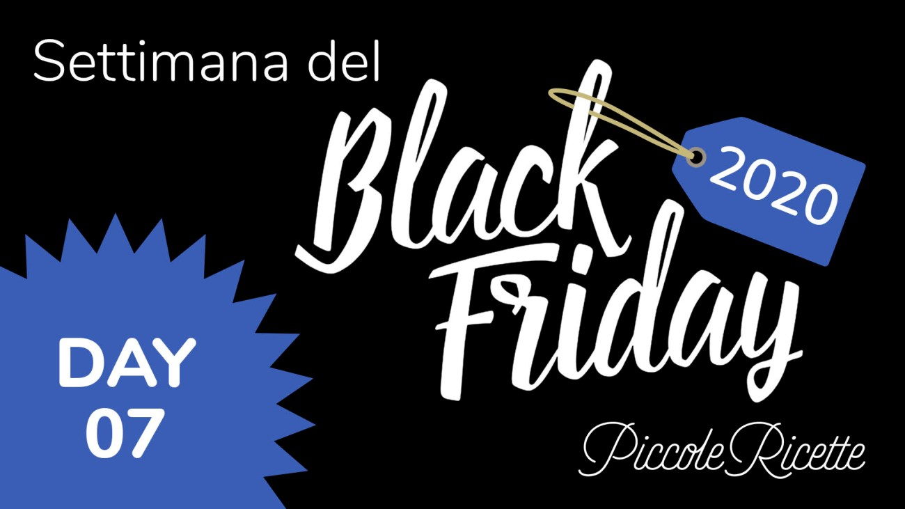 Amazon Black Friday 2020 giorno 07