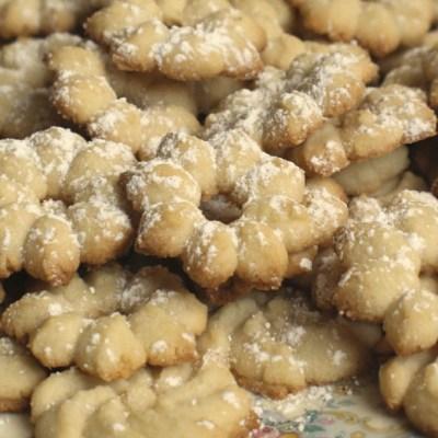 Biscottini di frolla montata senza uova