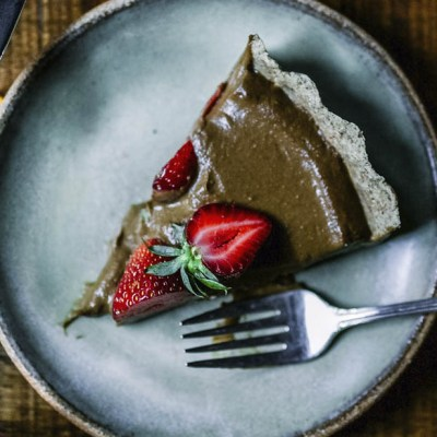 Crostata alla mousse di cioccolato