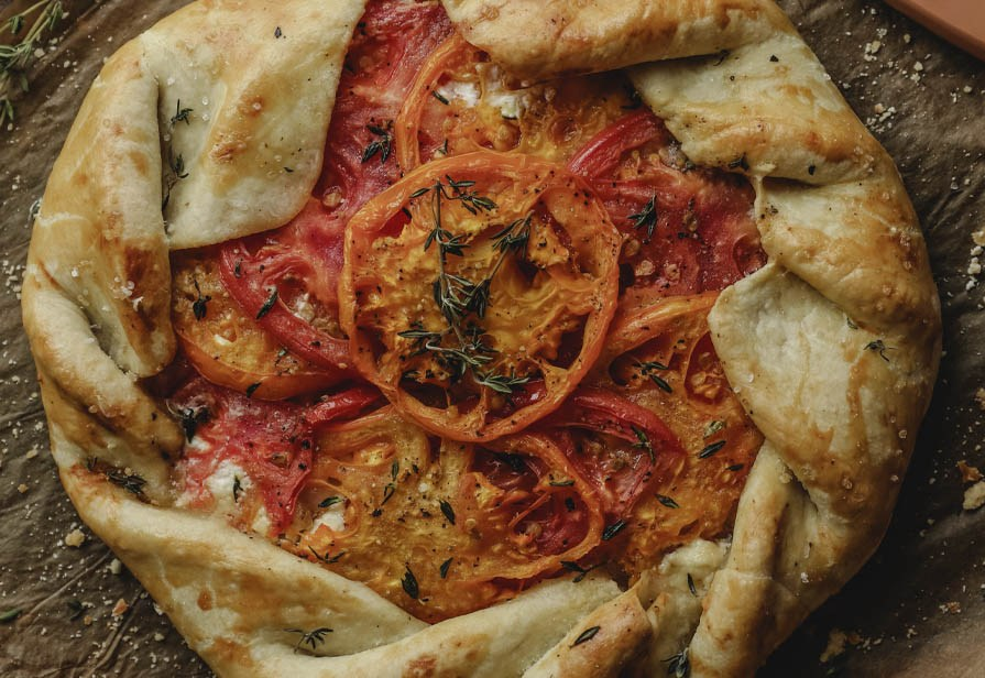 Crostata ai pomodori
